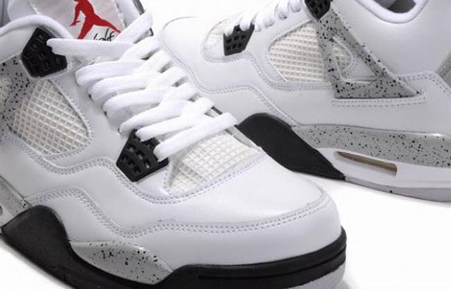 ed02ceda603f19 Air Jordan IV(4) White Cement 2012